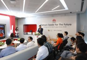 Huawei Việt Nam khai mạc Chương trình Đào tạo Hạt giống Viễn thông Tương lai năm 2020