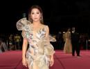 Minh Tuyết lộng lẫy xuất hiện trên thảm đỏ Hoa hậu Việt Nam 2020