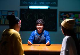 'Rapper' Quốc Khánh rủ Rapper 'thứ thiệt' Tez chơi trò công khai tin nhắn trong dự án Realme