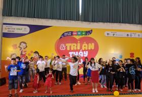 Hơn 350 trẻ tự kỷ hào hứng tham gia hội thao mừng ngày nhà giáo