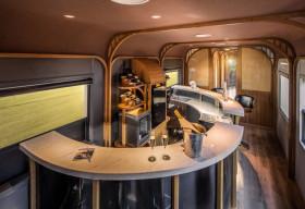 Trải nghiệm ẩm thực thượng hạng kết hợp công nghệ in 3D thời thượng trên tàu lửa hạng sang The Vietage