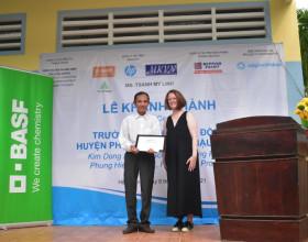 Saigon Children's Charity khánh thành thêm một ngôi trường mới tại Hậu Giang