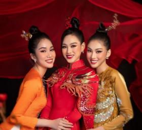 Top 3 Hoa Hậu Việt Nam 2020 hoá thân thành giai nhân xưa trong bộ ảnh tết