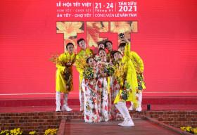 Lễ hội Tết Việt 2021 chính thức khai mạc với nhiều hoạt động thú vị