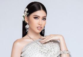 Diện trang phục truyền thống của nước chủ nhà, Á hậu Ngọc Thảo khoe nhan sắc 'beauty queen'