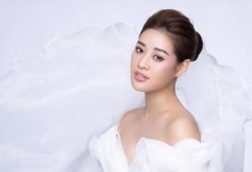 Hoa hậu Khánh Vân kể câu chuyện đầy ý nghĩa từ những dải lụa qua bộ ảnh mới