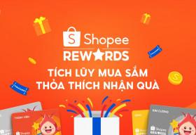 Shopee giới thiệu Shopee Rewards nhiều lợi ích và tiết kiệm chi phí mua sắm cho người tiêu dùng