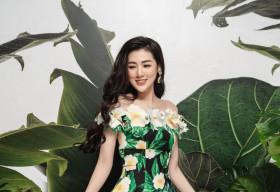 Á hậu Tú Anh cuốn hút cùng 'Quốc hoa miền Viễn Đông'