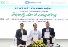 VinaCapital Foundation phát động chương trình dinh dưỡng cho bệnh nhi ung thư