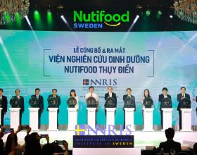 Nutifood ra mắt viện nghiên cứu dinh dưỡng Nutifood Thụy Điển NNRIS
