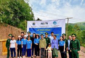 Tập đoàn AKYN hỗ trợ xây dựng công trình 'Ánh sáng đường biên và Mái ấm tình thương' tại Quảng Bình