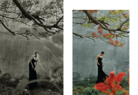 Hồ Thu Anh quảng bá vẻ đẹp An Giang qua bộ ảnh 'Ăn – Cầu nguyện – Yêu – Đi'