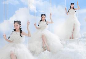 Mẫu nhí Bảo Hà tỏa sáng tinh khôi với bộ ảnh lấy concept mây trắng trong trẻo