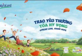 CapitaLand hỗ trợ 1 tỷ đồng 'Trao yêu thương, Tỏa hy vọng' giúp đỡ trẻ em khó khăn tại Việt Nam