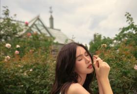 Á hậu Phương Anh tung bộ ảnh dịu dàng, thanh lịch 'chuẩn' phong thái Miss International mừng tuổi 23