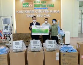 VinaCapital Foundation trao 8 máy thở và 1.174 trang thiết bị bảo hộ cá nhân cho UBMTTQ TP.HCM