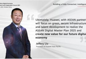 Huawei cam kết thúc đẩy mục tiêu phát triển xanh của ASEAN bằng các đổi mới sáng tạo về năng lượng số