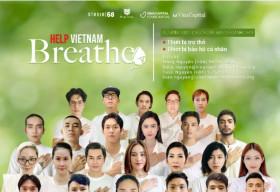 Đông đảo nghệ sĩ và cầu thủ đội tuyển Việt Nam kêu gọi ủng hộ quỹ 'Help Vietnam Breathe – Vì Nhịp Thở Việt Nam'