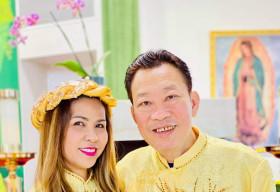 Trải qua thập tử nhất sinh, gia đình nghệ sỹ Cam Thơ – Lê Quang ấm êm kỷ niệm 27 năm ngày cưới