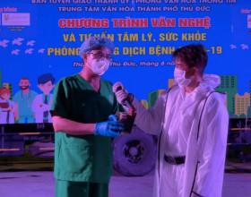 Đàm Vĩnh Hưng tặng 300 triệu đồng và gần 1500 hộp cá cho y bác sĩ bệnh viện dã chiến Thủ Đức