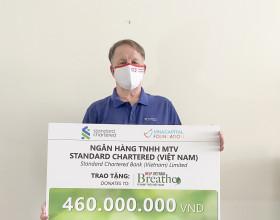 Standard Chartered (Việt Nam) tài trợ cho các bệnh viện điều trị COVID-19 tại TP.HCM