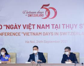 'Ngày Việt Nam tại Thụy Sỹ năm 2021' sẽ được tổ chức trực tuyến vào ngày 9/10/2021