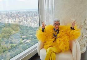 H&M công bố hợp tác với biểu tượng thời trang Iris Apfel trong dịp kỷ niệm 100 năm