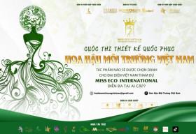 Tìm tài năng Thiết kế Quốc phục cho đại diện Việt Nam tham gia Miss Eco tại Ai Cập
