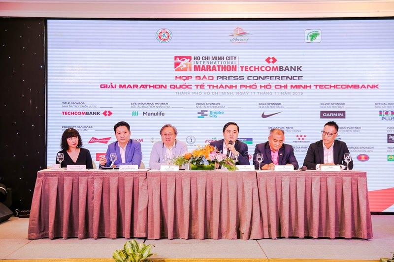 Giải Marathon Quốc tế TPHCM Techcombank 2019 1 Gần 13.000 vận động viên sẽ tham gia Giải Marathon Quốc tế TPHCM Techcombank 2019