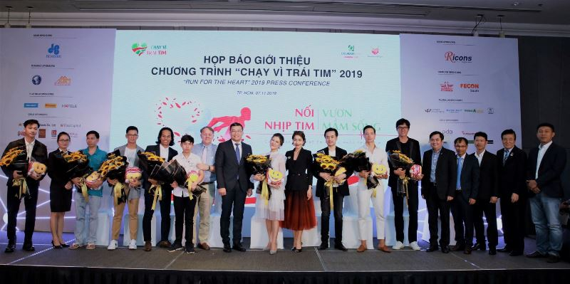 Rất nhiều doanh nghiệp và nghệ sĩ đồng hành cùng Chạy Vì Trái tim 2019 Đông đảo nghệ sĩ hào hứng hưởng ứng Chạy Vì Trái Tim lần 7