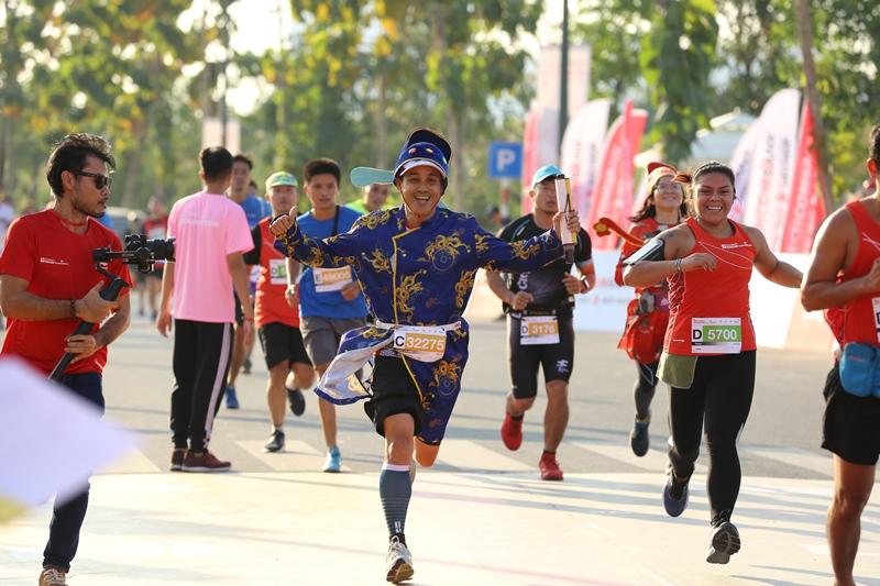 Giải Marathon Quốc tế Thành phố Hồ Chí Minh Techcombank 3 Hàng ngàn vận động viên chinh phục cung đường xanh tạiGiải Marathon Quốc tế Thành phố Hồ Chí Minh Techcombank