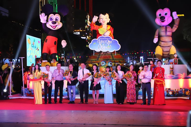 Khai mạc lễ hội Lễ hội múa rối TP.HCM lần 2 năm 2019 thu hút hàng chục ngàn lượt khách tham quan