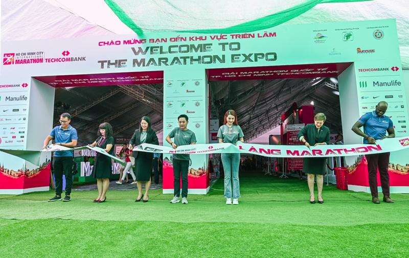 giải Marathon Quốc tế Thành phố Hồ Chí Minh Techcombank 2 Hơn 12.780 vận động viên tham gia giải Marathon Quốc tế Thành phố Hồ Chí Minh Techcombank