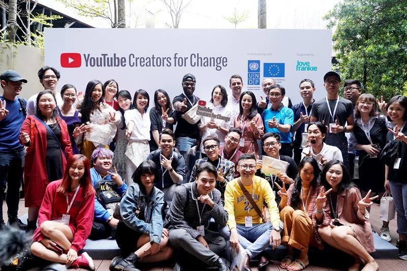 youtube 1 Chương trình Người sáng tạo thay đổi của Youtube lần đầu tiên được thực hiện tại Việt Nam