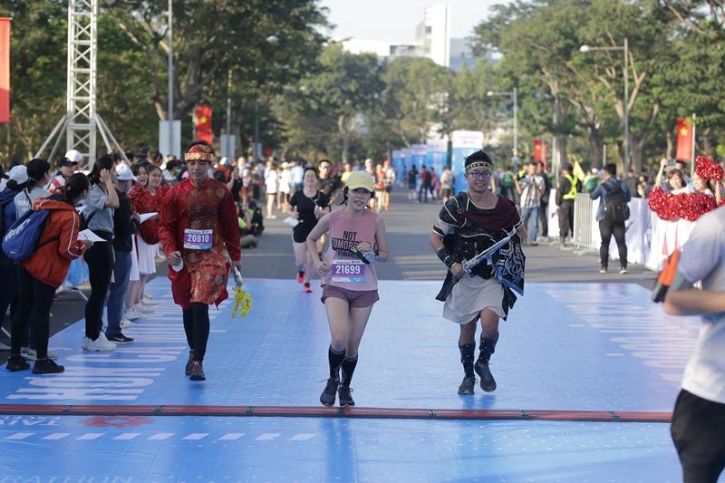 Giải Marathon Thành phố Hồ Chí Minh 2020 4 Cô gái vàng làng Điền kinh Việt vô địch marathon tại Giải Marathon Thành phố Hồ Chí Minh 2020