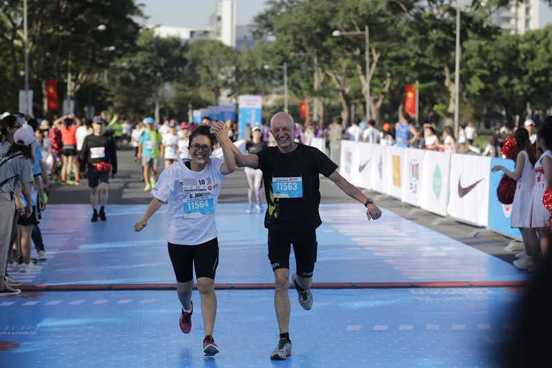 Giải Marathon Thành phố Hồ Chí Minh 2020 8 Cô gái vàng làng Điền kinh Việt vô địch marathon tại Giải Marathon Thành phố Hồ Chí Minh 2020