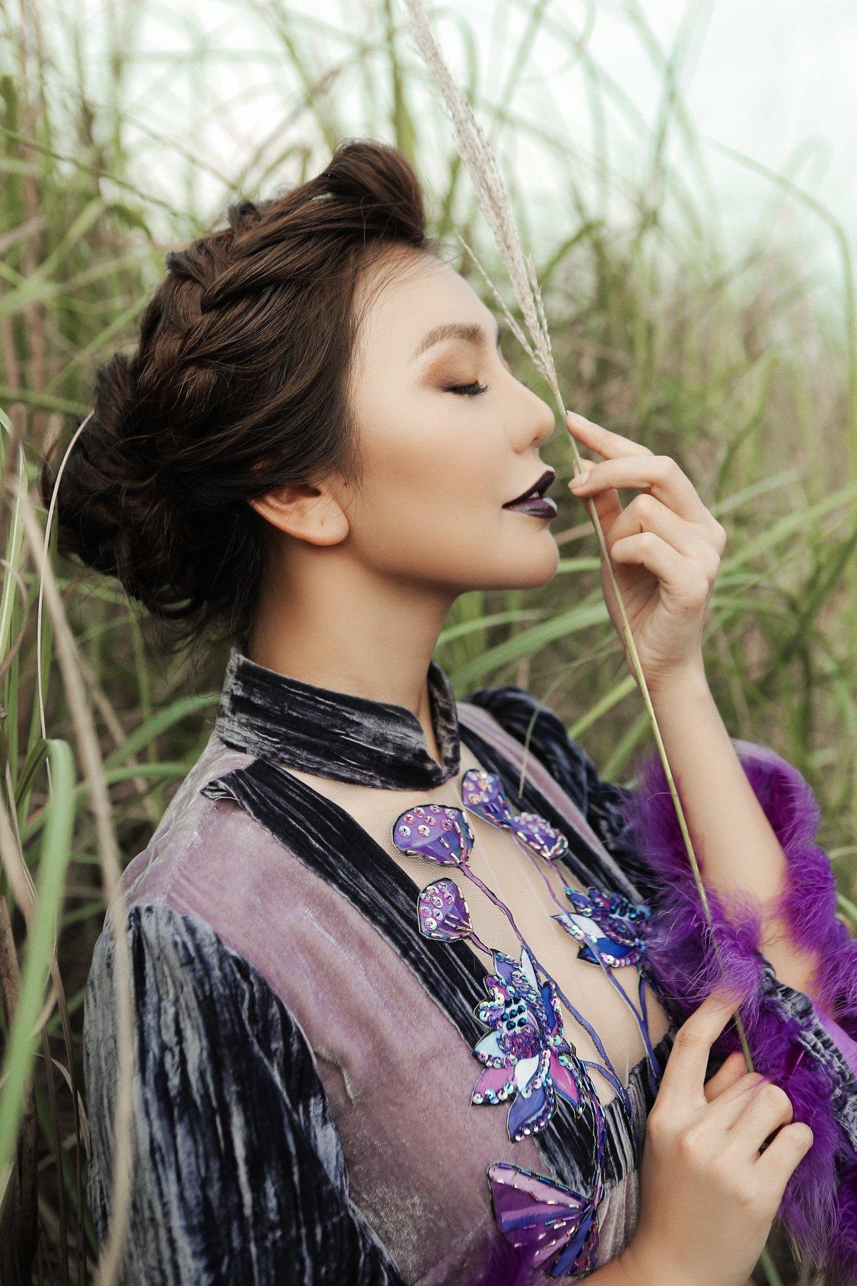 2L9A5416 MC Hải Anh đẹp ma mị xuất hiện trên Tạp chí Look – Bamboo Airways