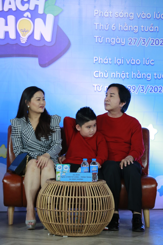 """Q9A7770 Đoan Trang """"tan chảy"""" vì con gái Sol nói lời yêu mẹ tại buổi họp báo livestream Thử Thách Lớn Khôn"""