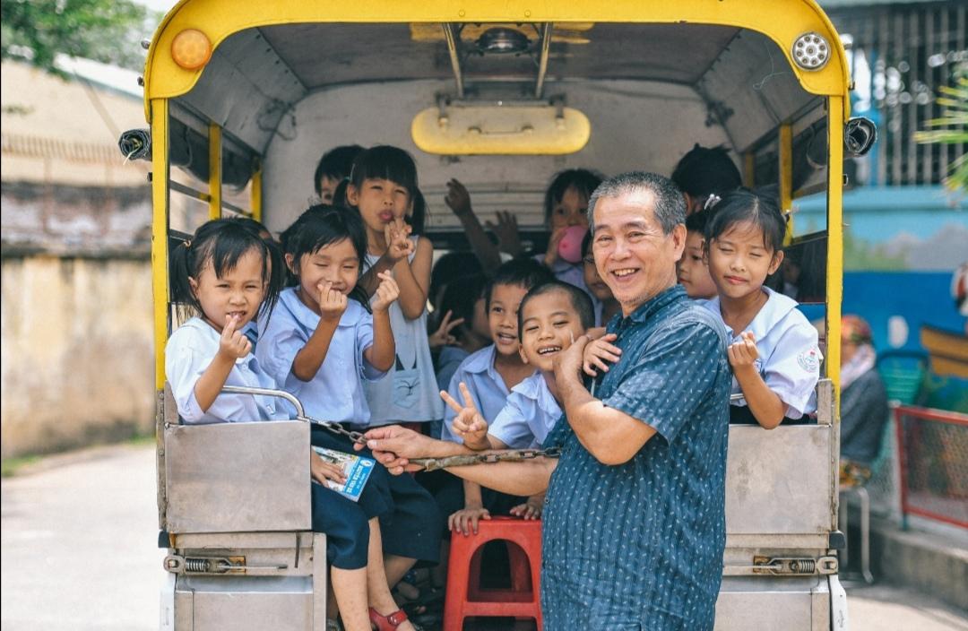 Screenshot 20200328 102422 Dù 1 vợ 2 con, cựu chiến binh vẫn dồn hết tài sản nuôi 103 trẻ mồ côi