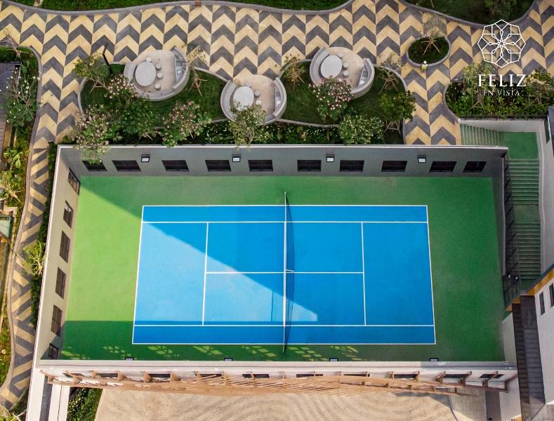 FeV Tennis Court 2 5 bí quyết cho nhịp sống năng độngcủa cư dân thông minh