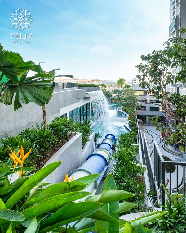 FeV Water Slide 5 bí quyết cho nhịp sống năng độngcủa cư dân thông minh