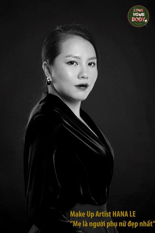 Hana Le Dự án Love Your Body tung bộ ảnh mẹ sinh mổ gây xúc động
