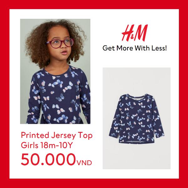 KIDS 2 H&M gây bão mùa hè với mức giá chỉ từ 50.000 VND