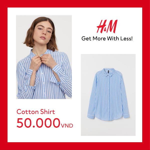 LADIES 1 H&M gây bão mùa hè với mức giá chỉ từ 50.000 VND