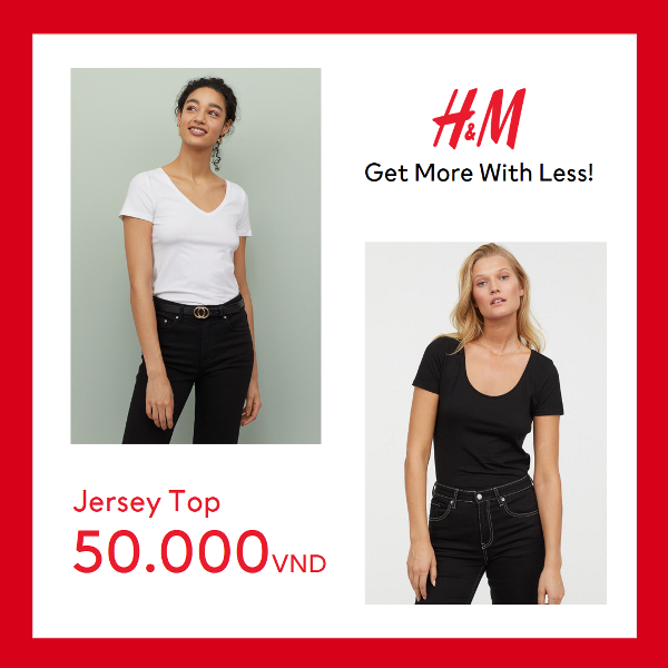 LADIES H&M gây bão mùa hè với mức giá chỉ từ 50.000 VND