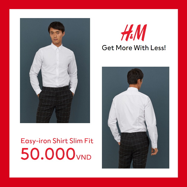men 2 H&M gây bão mùa hè với mức giá chỉ từ 50.000 VND