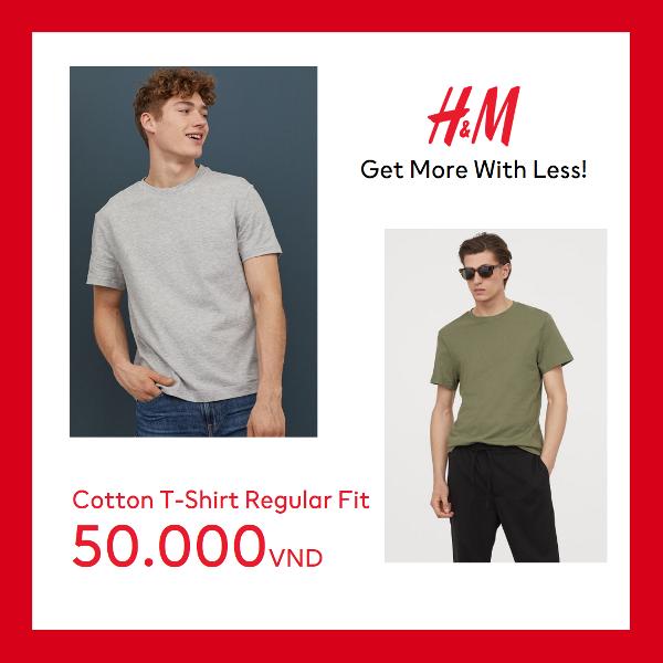 men 5 H&M gây bão mùa hè với mức giá chỉ từ 50.000 VND