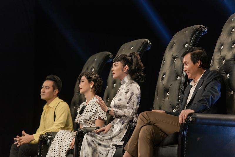 """BGK 3 Lý Nhã Kỳ """"ganh tỵ"""" với Phạm Lịch vì được """"diễn cảnh hôn"""" cùng Nguyễn Phi Hùng"""