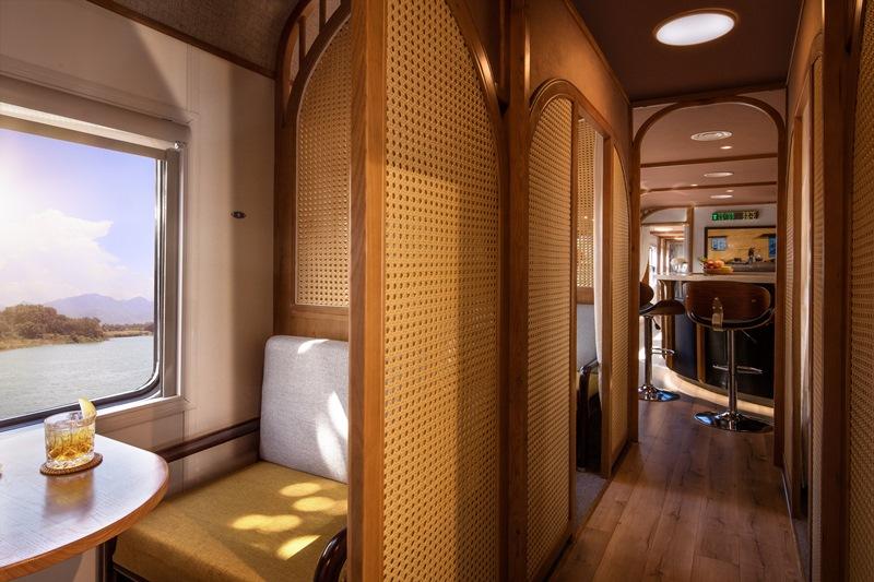 The Vietage Interior The Vietage lăn bánh, mở ra trải nghiệm đẳng cấp thương gia du lịch bằng tàu hỏa