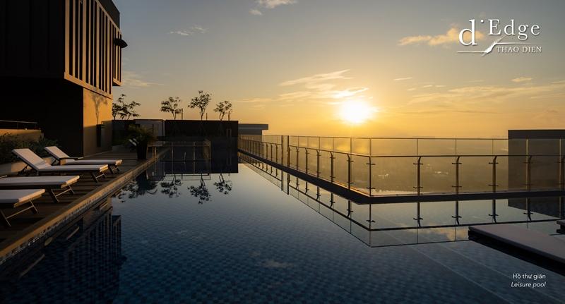 dEdge Leisure pool d'Edge Thảo Điền gây ấn tượng với nhiều tiện ích đẳng cấp cho cư dân